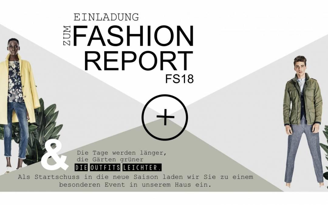 Fashionreport FS18 – die Modeinfo