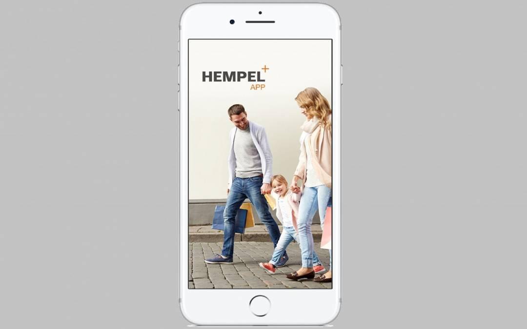 Update unserer Hempel+App