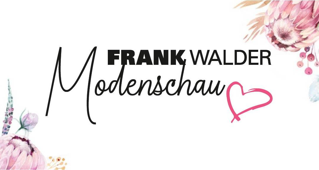 Frank Walder Modenschau am 12. April 2019