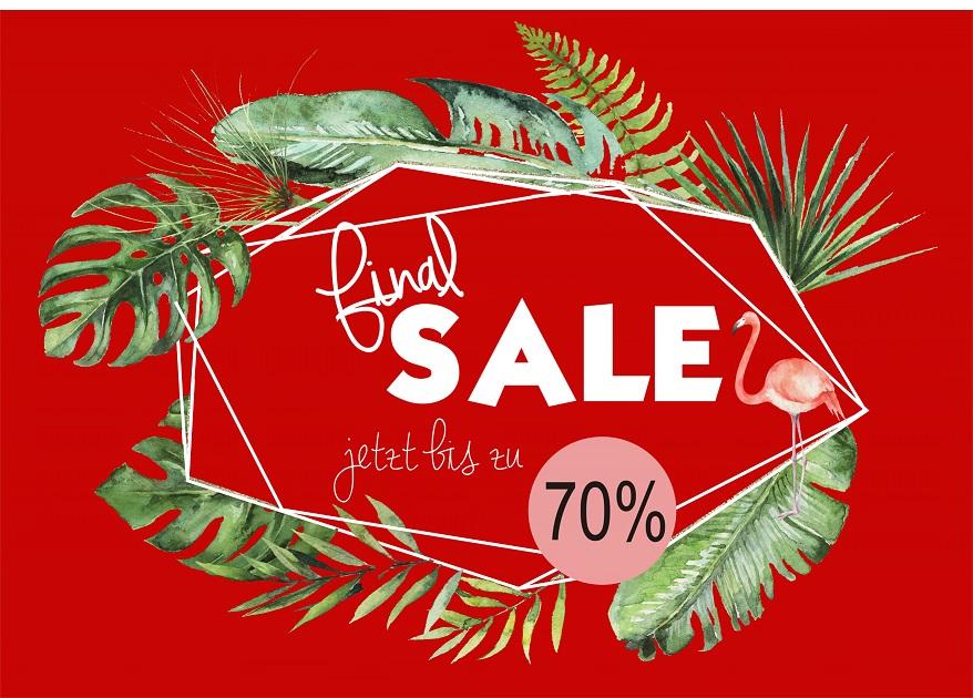 Letzte Chance – jetzt bis zu 70% im FINAL SALE sparen