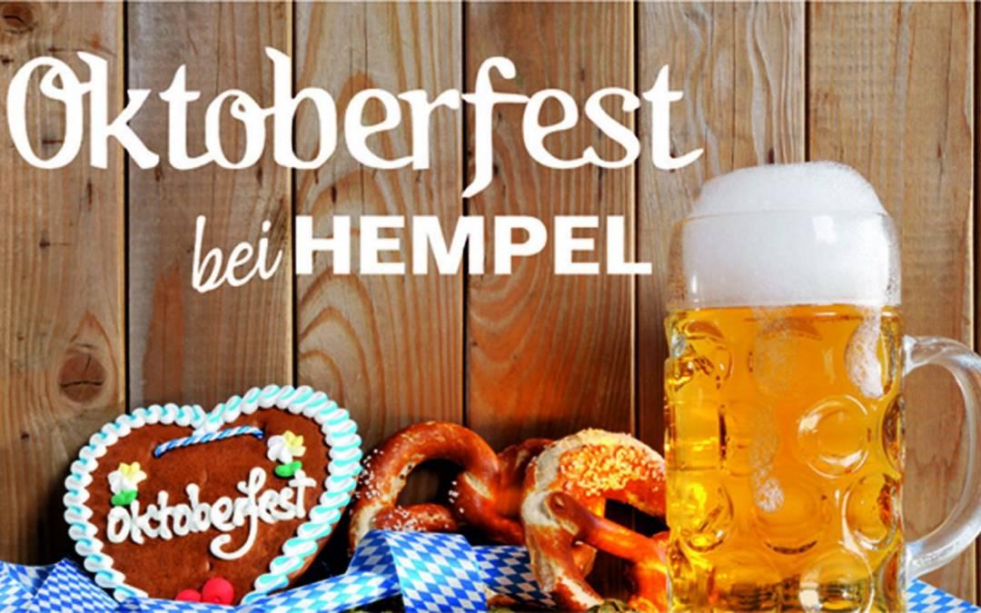 Oktoberfest – Hempel zapft o´!